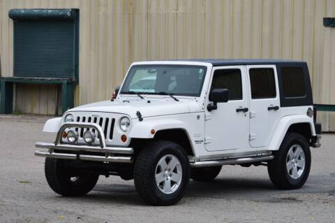 2010 Jeep Wrangler Unlimited for sale at LARIN AUTO in Norwood MA