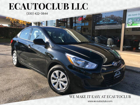 2016 Hyundai Accent for sale at ECAUTOCLUB LLC in Kent OH