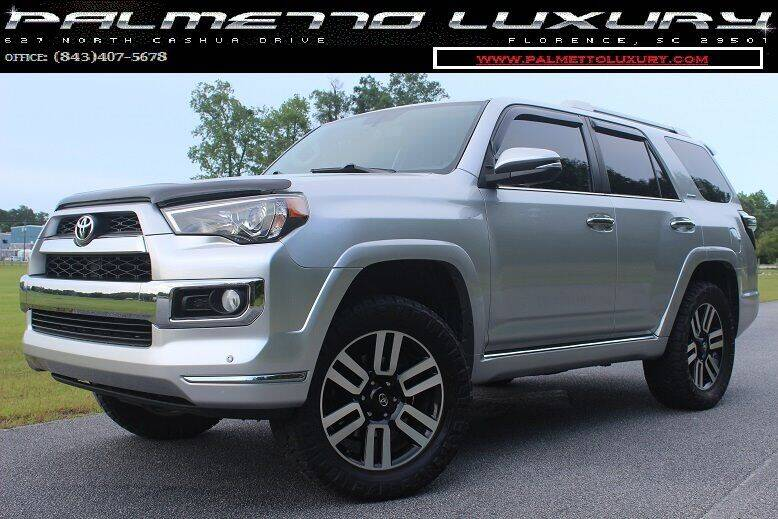 2015 Toyota 4Runner for sale at Palmetto Luxury Cars in Florence SC