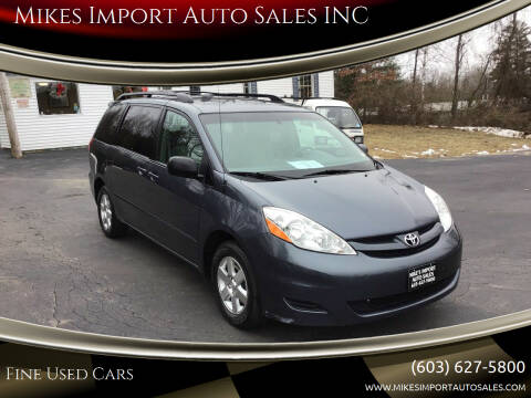2006 Toyota Sienna for sale at Mikes Import Auto Sales INC in Hooksett NH
