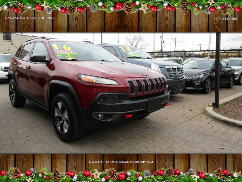 2016 Jeep Cherokee for sale at Capital Motors Credit, Inc. in Chicago IL