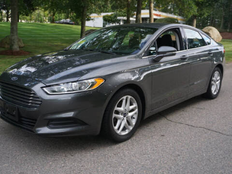 2015 Ford Fusion for sale at CLASSIC AUTO SALES in Holliston MA