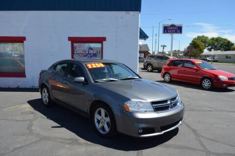 2013 Dodge Avenger for sale at CARGILL U DRIVE USED CARS in Twin Falls ID