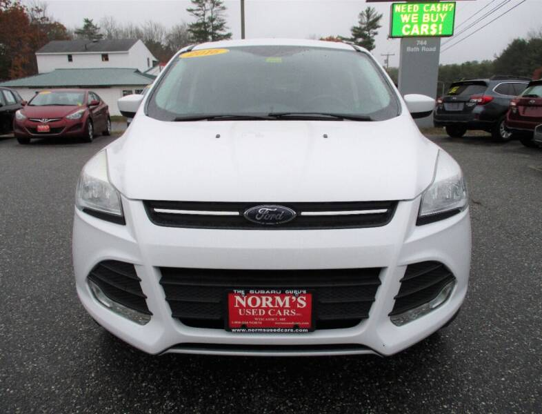 2016 Ford Escape for sale at Norm's Used Cars INC. - Trucks By Norm's in Wiscasset ME