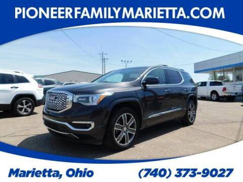 2017 GMC Acadia for sale at Pioneer Family preowned autos in Williamstown WV