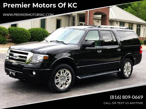 2012 Ford Expedition EL for sale at Premier Motors of KC in Kansas City MO
