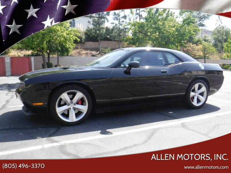 2010 Dodge Challenger for sale at Allen Motors, Inc. in Thousand Oaks CA