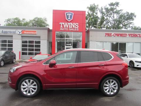 2017 Buick Envision for sale at Twins Auto Sales Inc in Detroit MI