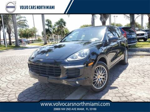 2016 Porsche Cayenne for sale at Volvo Cars North Miami in Miami FL