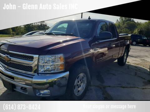 2013 Chevrolet Silverado 1500 for sale at John - Glenn Auto Sales INC in Plain City OH