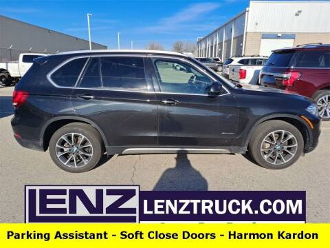 2017 BMW X5 for sale at LENZ TRUCK CENTER in Fond Du Lac WI