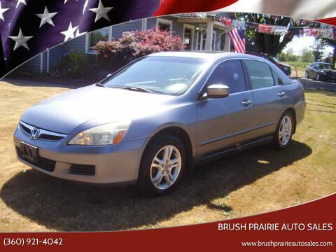 2007 Honda Accord for sale at Brush Prairie Auto Sales in Battle Ground WA