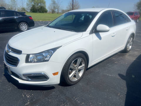 2015 Chevrolet Cruze for sale at EAGLE ONE AUTO SALES in Leesburg OH