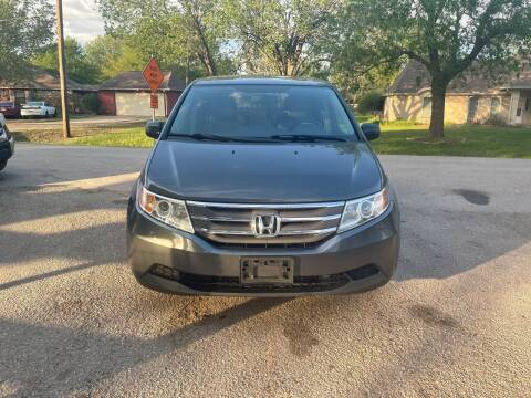 2013 Honda Odyssey for sale at CARWIN MOTORS in Katy TX