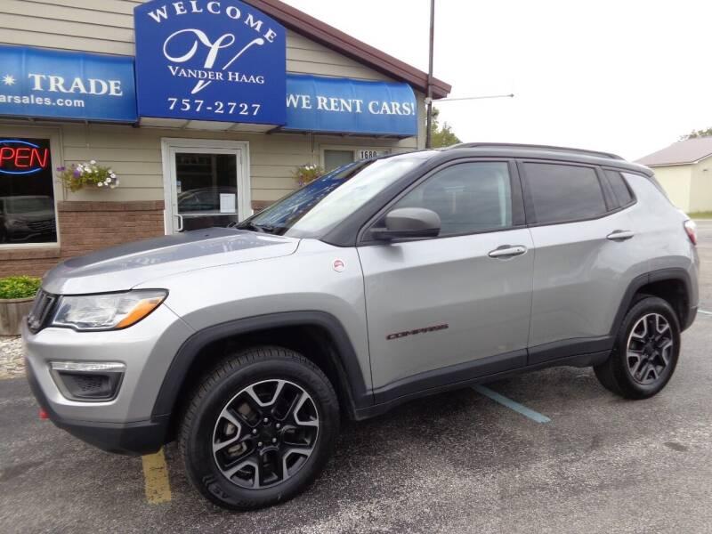 2019 Jeep Compass for sale at VanderHaag Car Sales LLC in Scottville MI