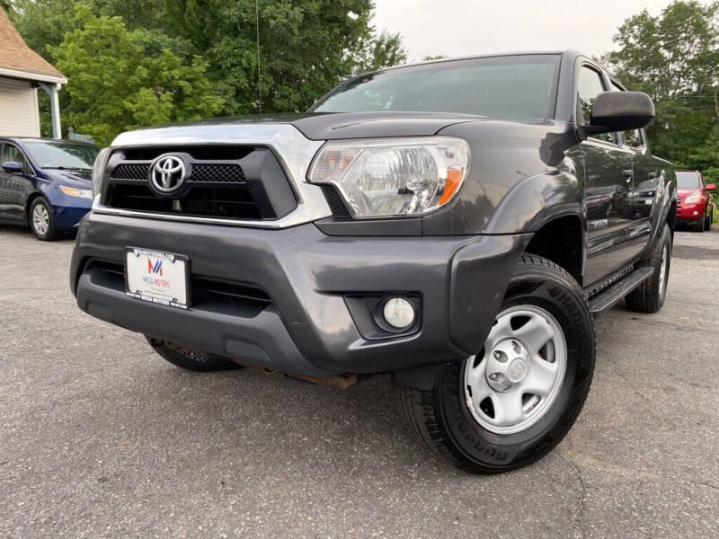 2013 Toyota Tacoma for sale at Mega Motors in West Bridgewater MA