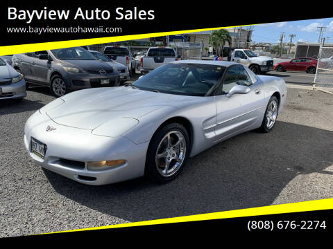 2003 Chevrolet Corvette for sale at Bayview Auto Sales in Waipahu HI