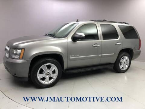 2009 Chevrolet Tahoe for sale at J & M Automotive in Naugatuck CT
