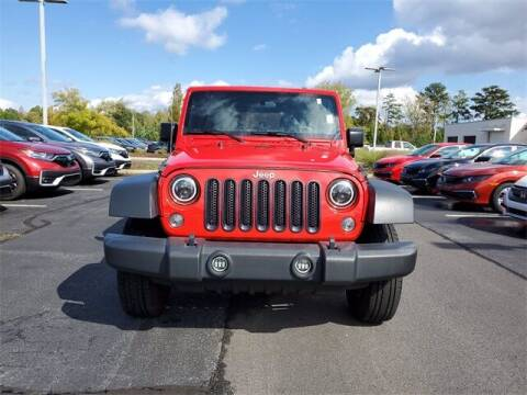 2017 Jeep Wrangler Unlimited for sale at Southern Auto Solutions - Georgia Car Finder - Southern Auto Solutions - Lou Sobh Honda in Marietta GA