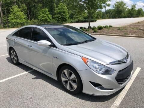 2011 Hyundai Sonata Hybrid for sale at Don Roberts Auto Sales in Lawrenceville GA