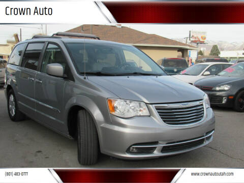 2015 Chrysler Town and Country for sale at Crown Auto in South Salt Lake City UT