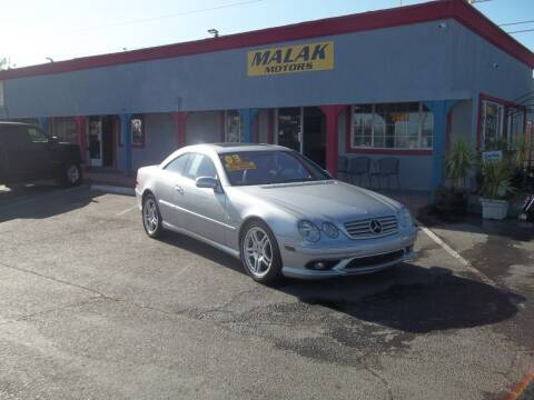 2003 Mercedes-Benz CL-Class for sale at Atayas Motors INC #1 in Sacramento CA