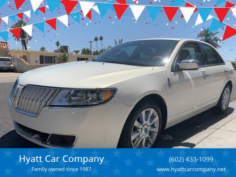 2012 Lincoln MKZ for sale at Hyatt Car Company in Phoenix AZ