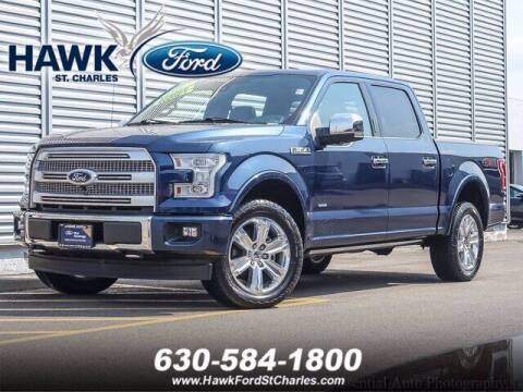 2017 Ford F-150 for sale at Hawk Ford of St. Charles in Saint Charles IL