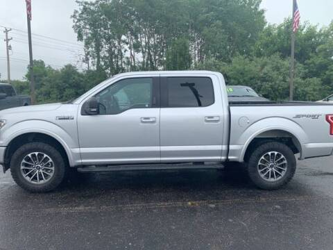2018 Ford F-150 for sale at Szott Ford in Holly MI