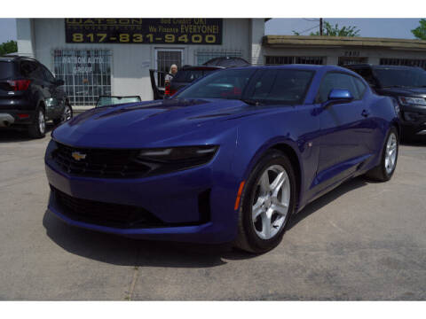 2020 Chevrolet Camaro for sale at Watson Auto Group in Fort Worth TX