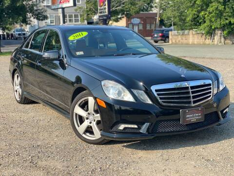 2011 Mercedes-Benz E-Class for sale at Best Cars Auto Sales in Everett MA