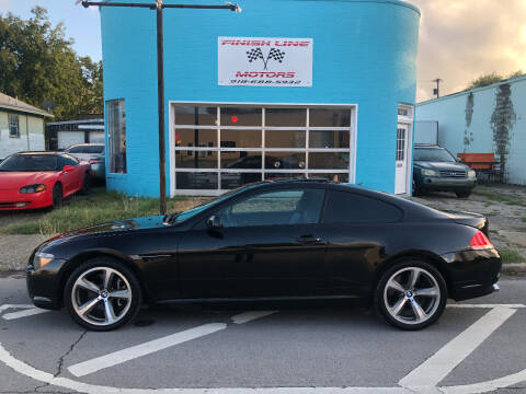 2004 BMW 6 Series for sale at Finish Line Motors in Tulsa OK