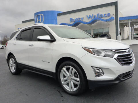 2020 Chevrolet Equinox for sale at RUSTY WALLACE HONDA in Knoxville TN