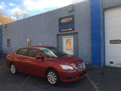 2014 Nissan Sentra for sale at AME Auto in Scranton PA