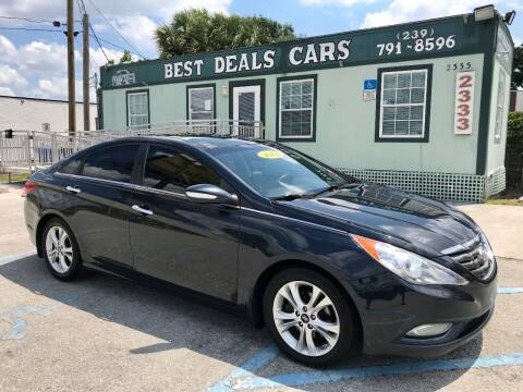 2012 Hyundai Sonata for sale at Best Deals Cars Inc in Fort Myers FL