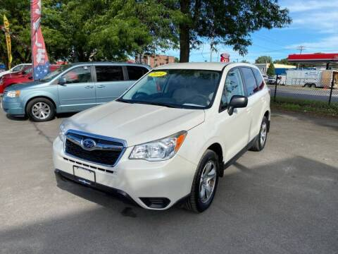 2014 Subaru Forester for sale at Midtown Autoworld LLC in Herkimer NY