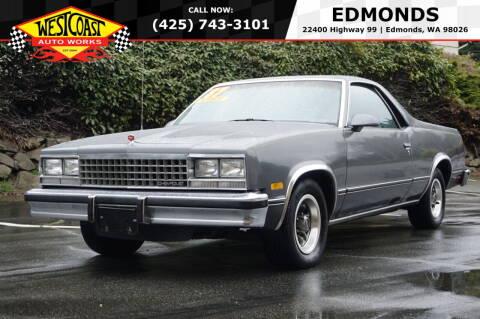 1987 Chevrolet El Camino for sale at West Coast Auto Works in Edmonds WA