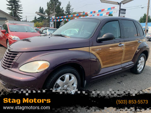 2005 Chrysler PT Cruiser for sale at Stag Motors in Portland OR