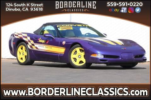 1998 Chevrolet Corvette for sale at Borderline Classics in Dinuba CA