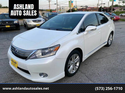 2010 Lexus HS 250h for sale at ASHLAND AUTO SALES in Columbia MO