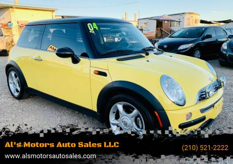 2004 MINI Cooper for sale at Al's Motors Auto Sales LLC in San Antonio TX