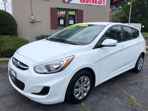 2015 Hyundai Accent for sale at Mehan's Auto Center in Mechanicville NY