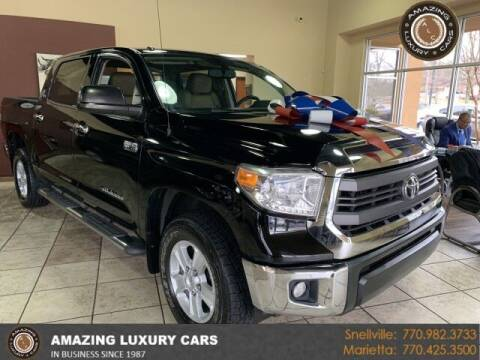 2015 Toyota Tundra for sale at Amazing Luxury Cars in Snellville GA