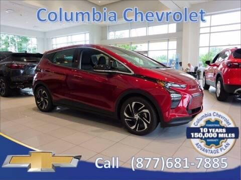 2022 Chevrolet Bolt EV for sale at COLUMBIA CHEVROLET in Cincinnati OH