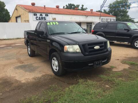 2007 Ford F-150 for sale at B & B CARS llc in Bossier City LA