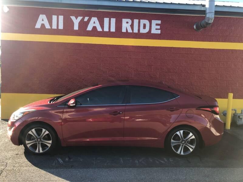 2015 Hyundai Elantra for sale at Big Daddy's Auto in Winston-Salem NC