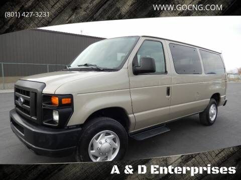 2010 Ford E-Series Wagon for sale at A&D Enterprises in Spanish Fork UT