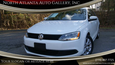 2012 Volkswagen Jetta for sale at North Atlanta Auto Gallery, Inc in Alpharetta GA