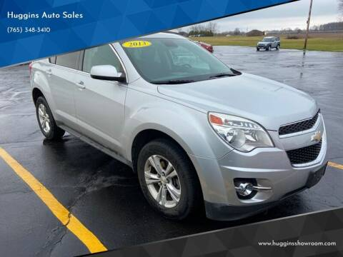 2013 Chevrolet Equinox for sale at Huggins Auto Sales in Hartford City IN