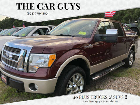 2010 Ford F-150 for sale at The Car Guys in Hyannis MA